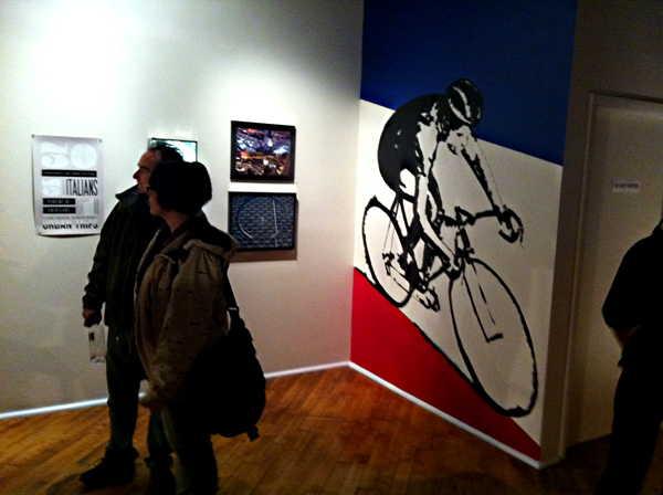 14th Chicago Bike Winter Art Show