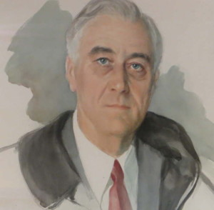 The unfinished portrait of FDR